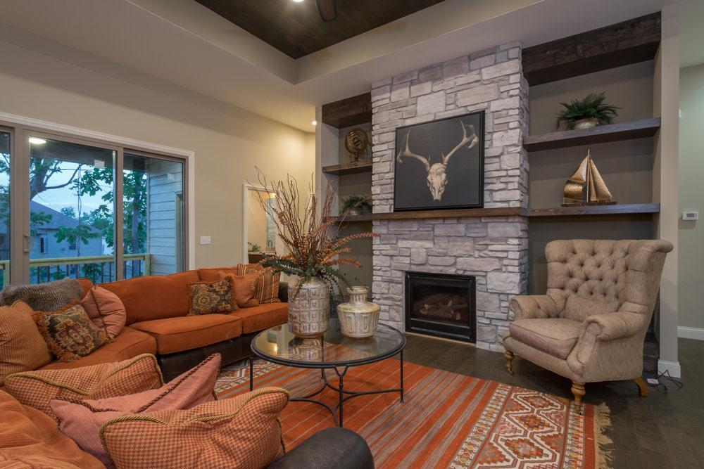 Living Area featured in The Gabrielle By Girard Homes - Custom in Columbia-Jefferson City, MO