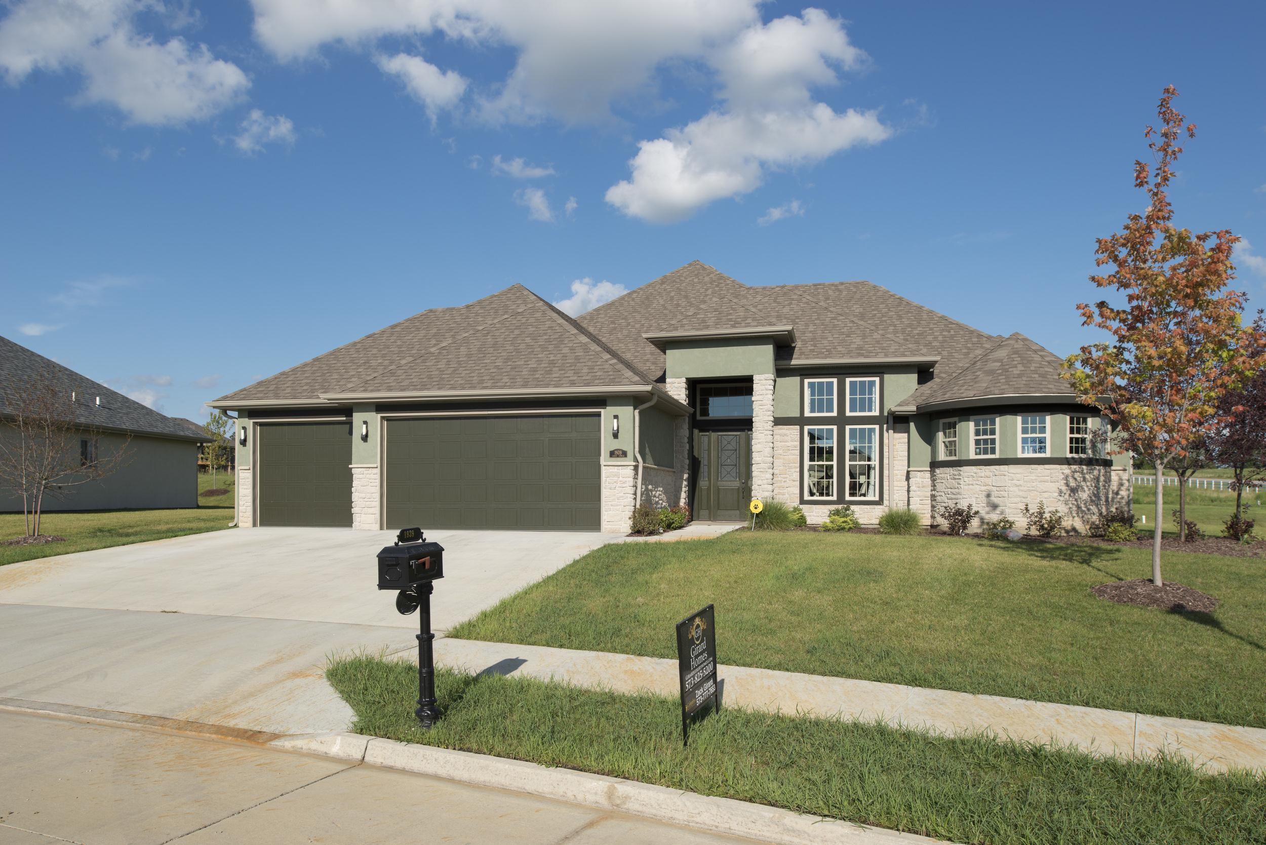 Exterior featured in the Custom By Girard Homes - Custom in Columbia-Jefferson City, MO