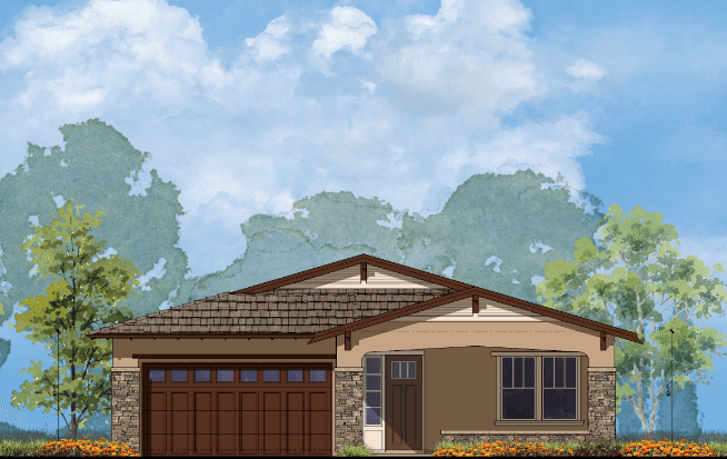 Exterior featured in the Plan 1 By Golden Valley Estates in Oakland-Alameda, CA