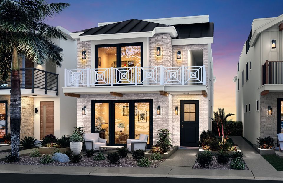 Exterior featured in the Modern Farmhouse By 17th of Seal in Orange County, CA