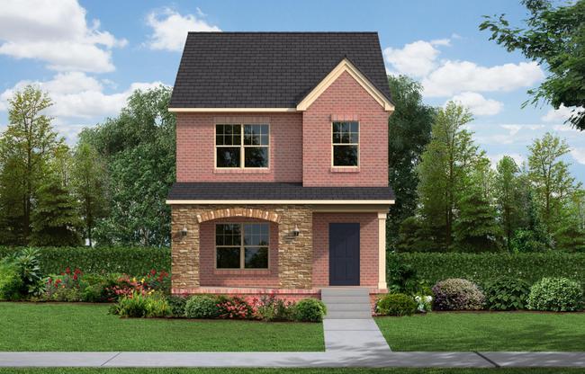 Exterior:The Nolen Cottage Elevation