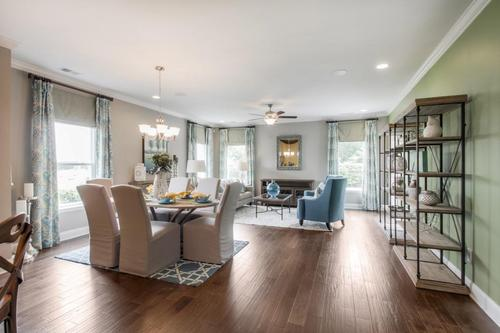The Reserve at Cambridge Farms by Goodall Homes in Nashville Tennessee