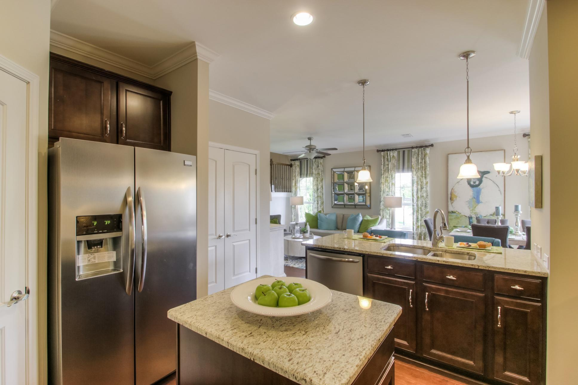 Kitchen featured in The Everleigh Courtyard Cottage By Goodall Homes in Nashville, TN