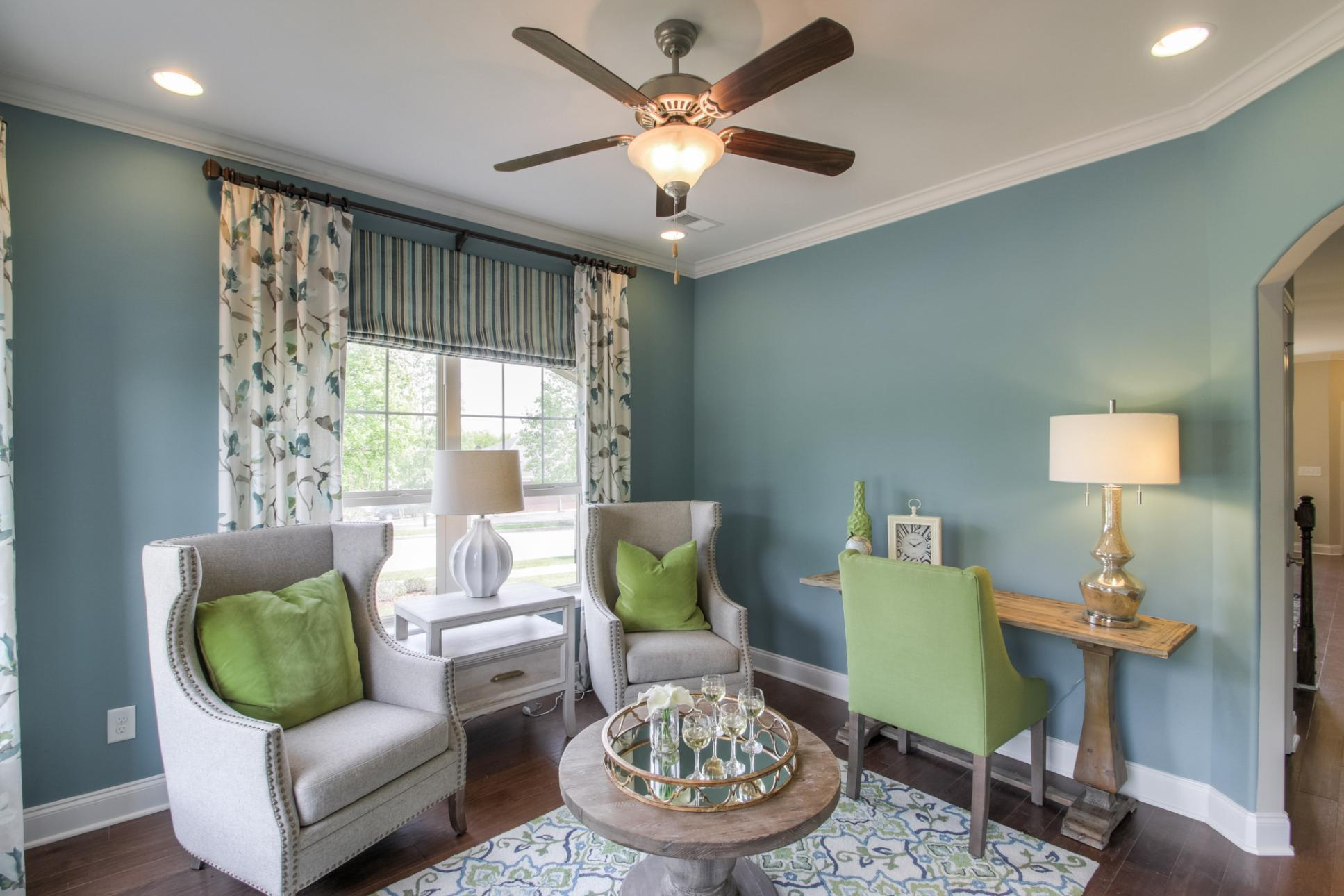 Living Area featured in The Everleigh Courtyard Cottage By Goodall Homes in Nashville, TN