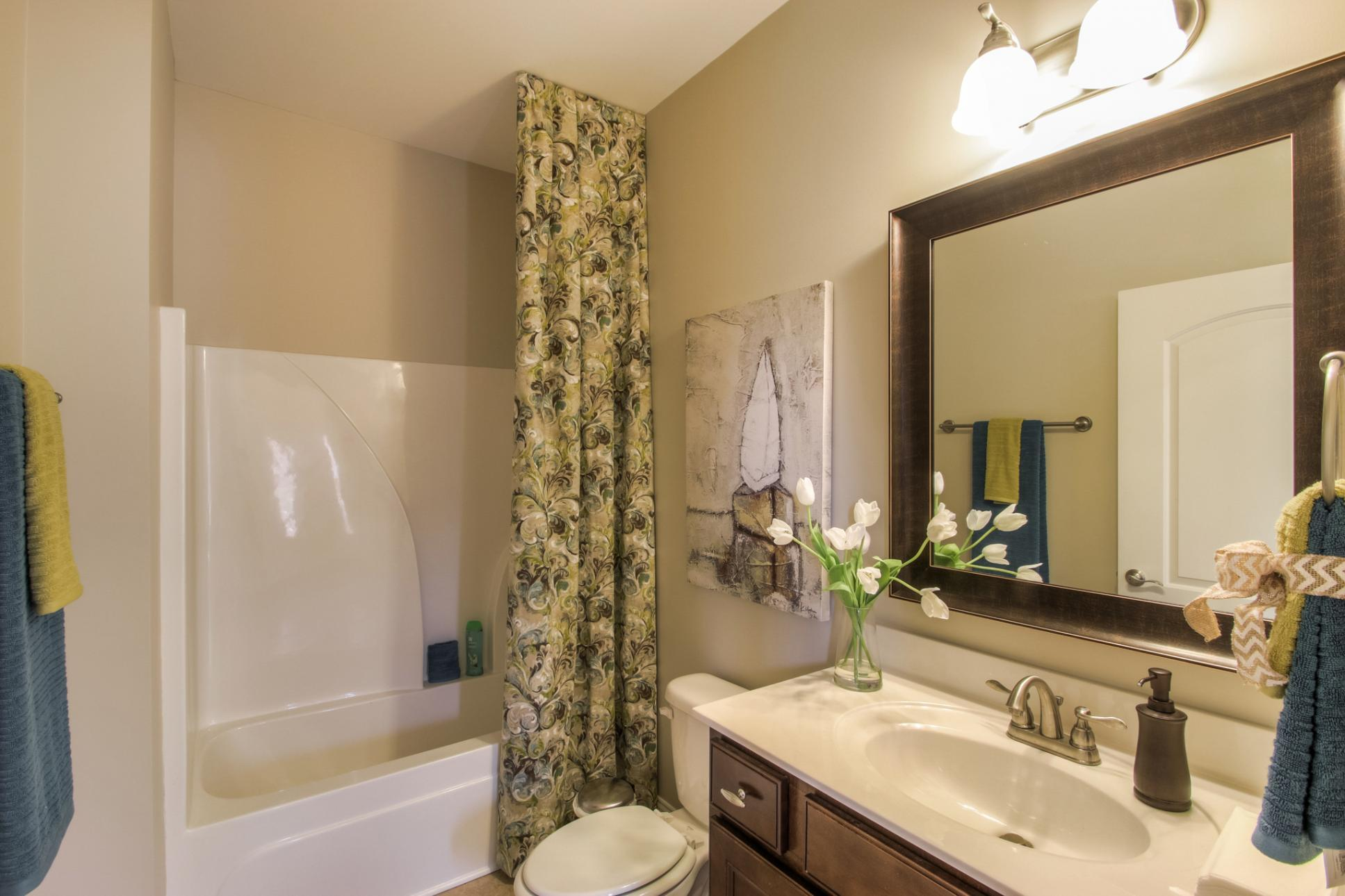 Bathroom featured in The Everleigh Courtyard Cottage By Goodall Homes in Chattanooga, GA