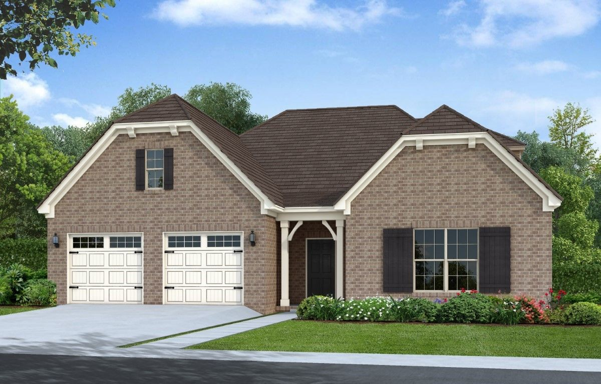 Exterior featured in The Lexington By Goodall Homes in Chattanooga, TN