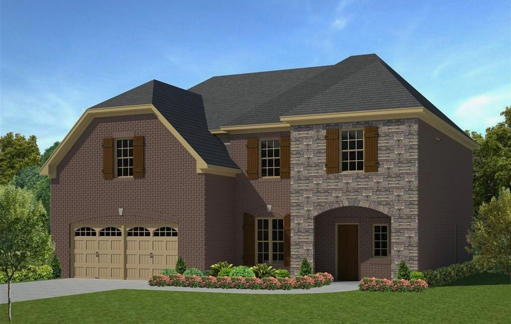 Exterior featured in The Alexandria By Goodall Homes in Knoxville, TN