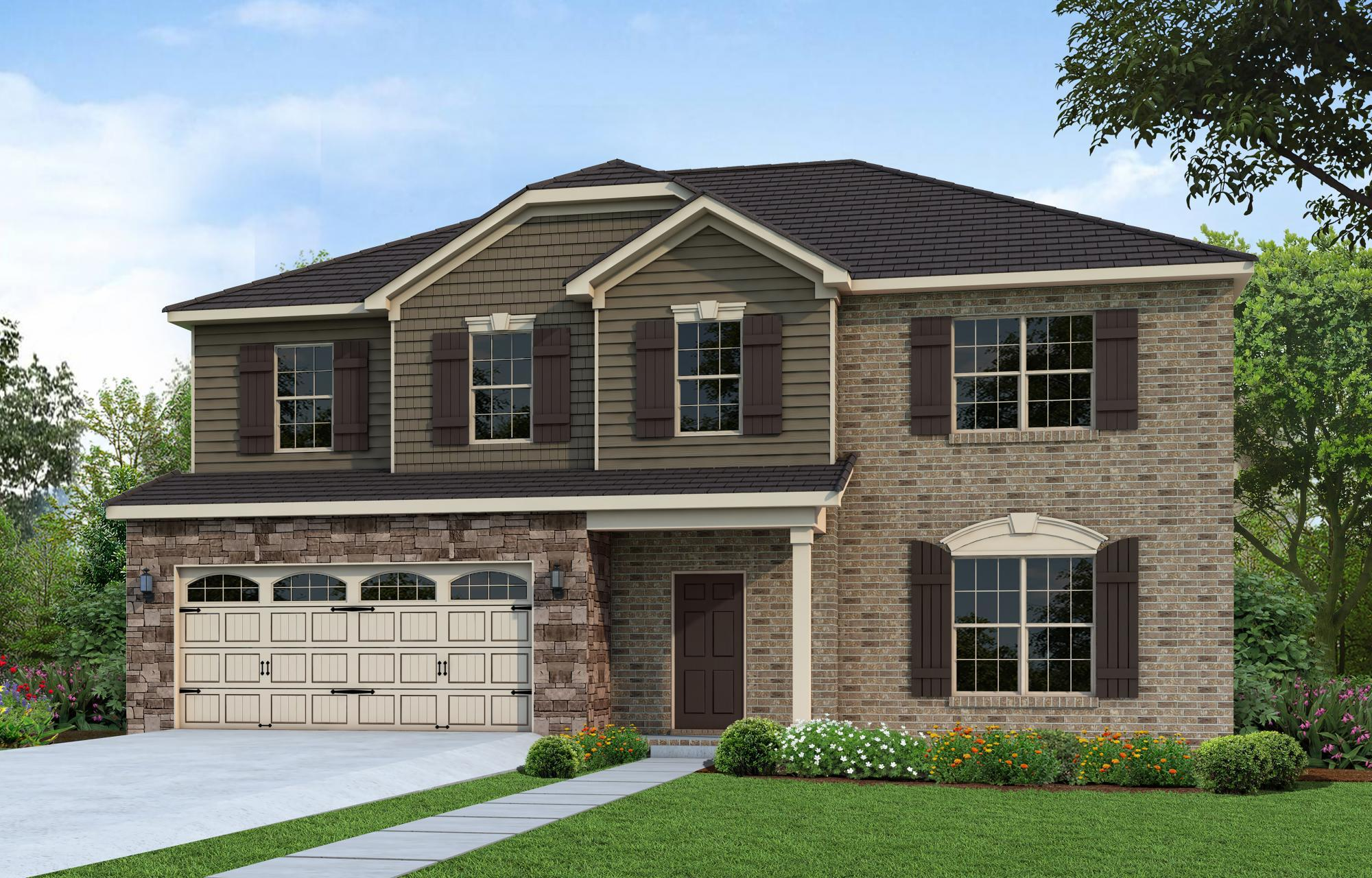 Exterior featured in The Eliot By Goodall Homes in Knoxville, TN