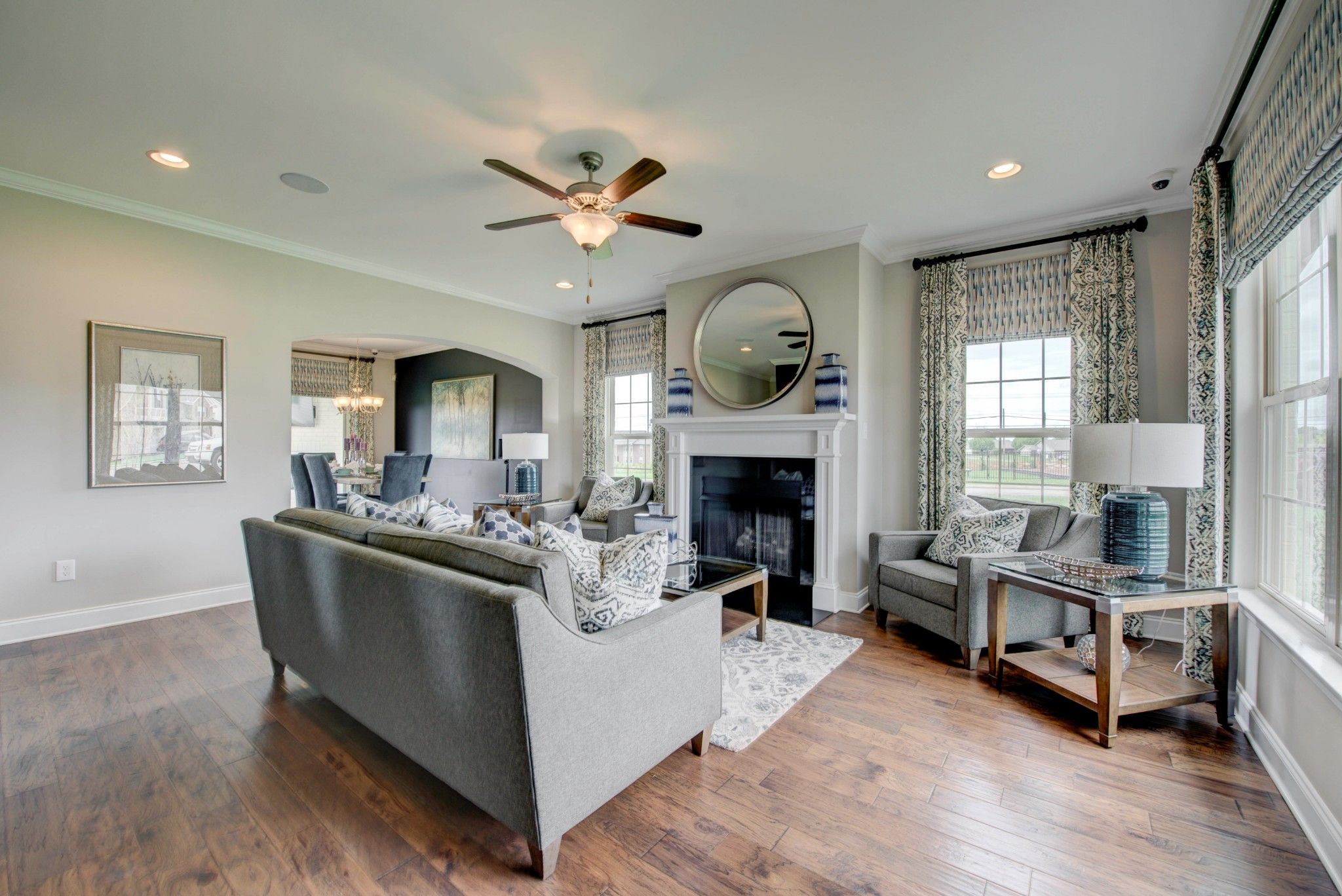 Living Area featured in The Eliot By Goodall Homes in Nashville, TN