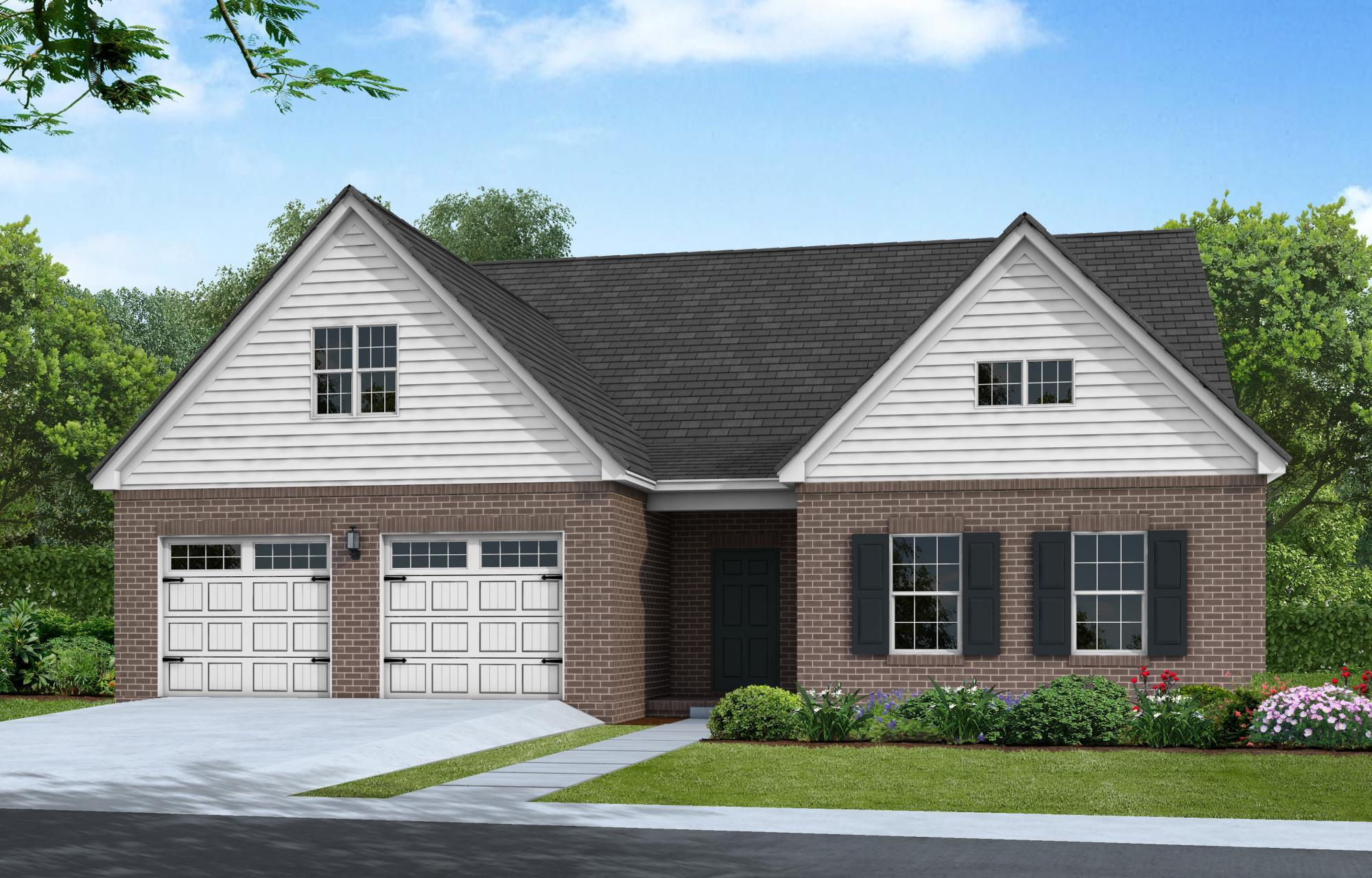 Exterior featured in The Lexington By Goodall Homes in Huntsville, AL