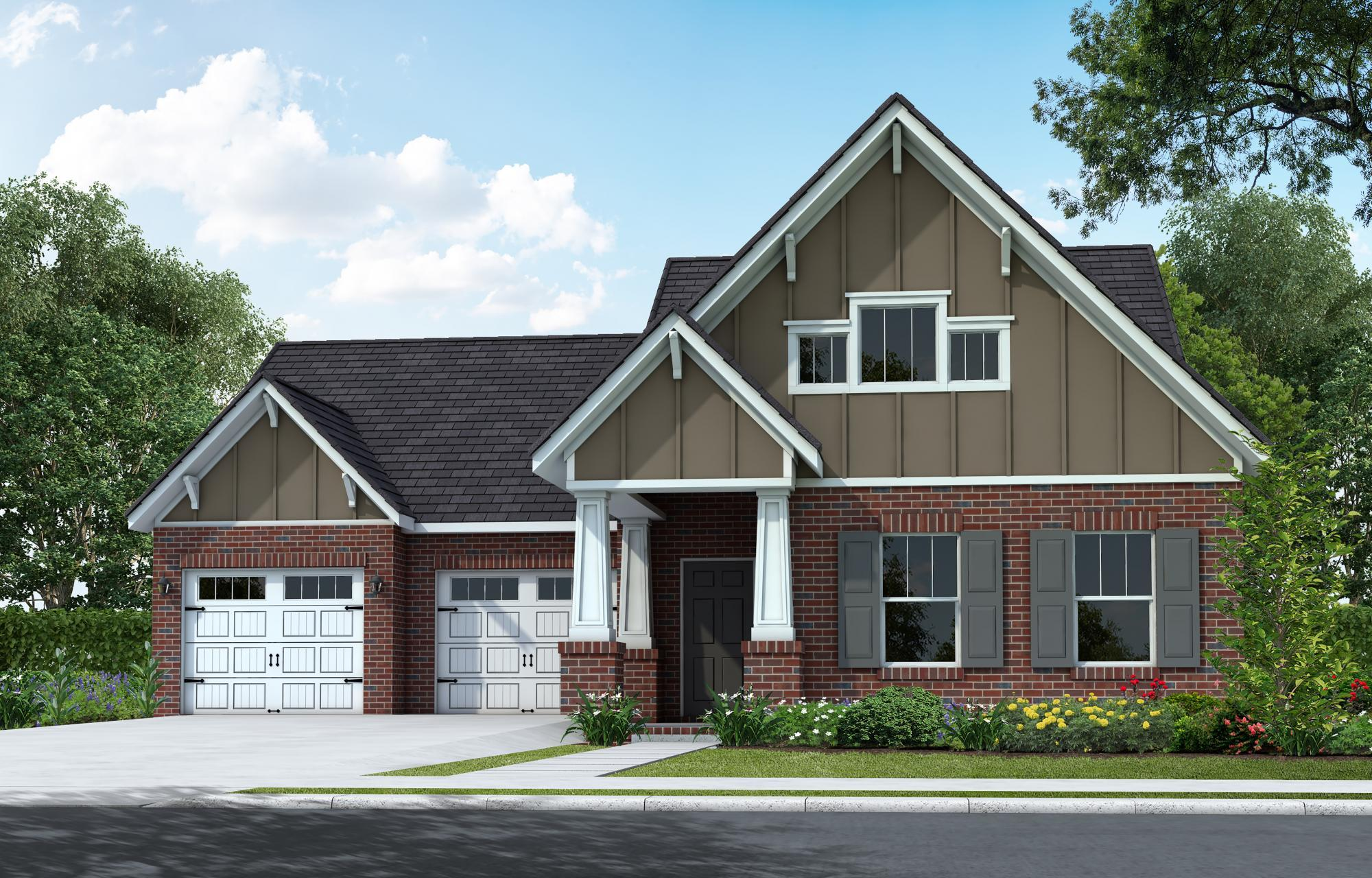 Exterior featured in The Cambridge By Goodall Homes in Owensboro, KY
