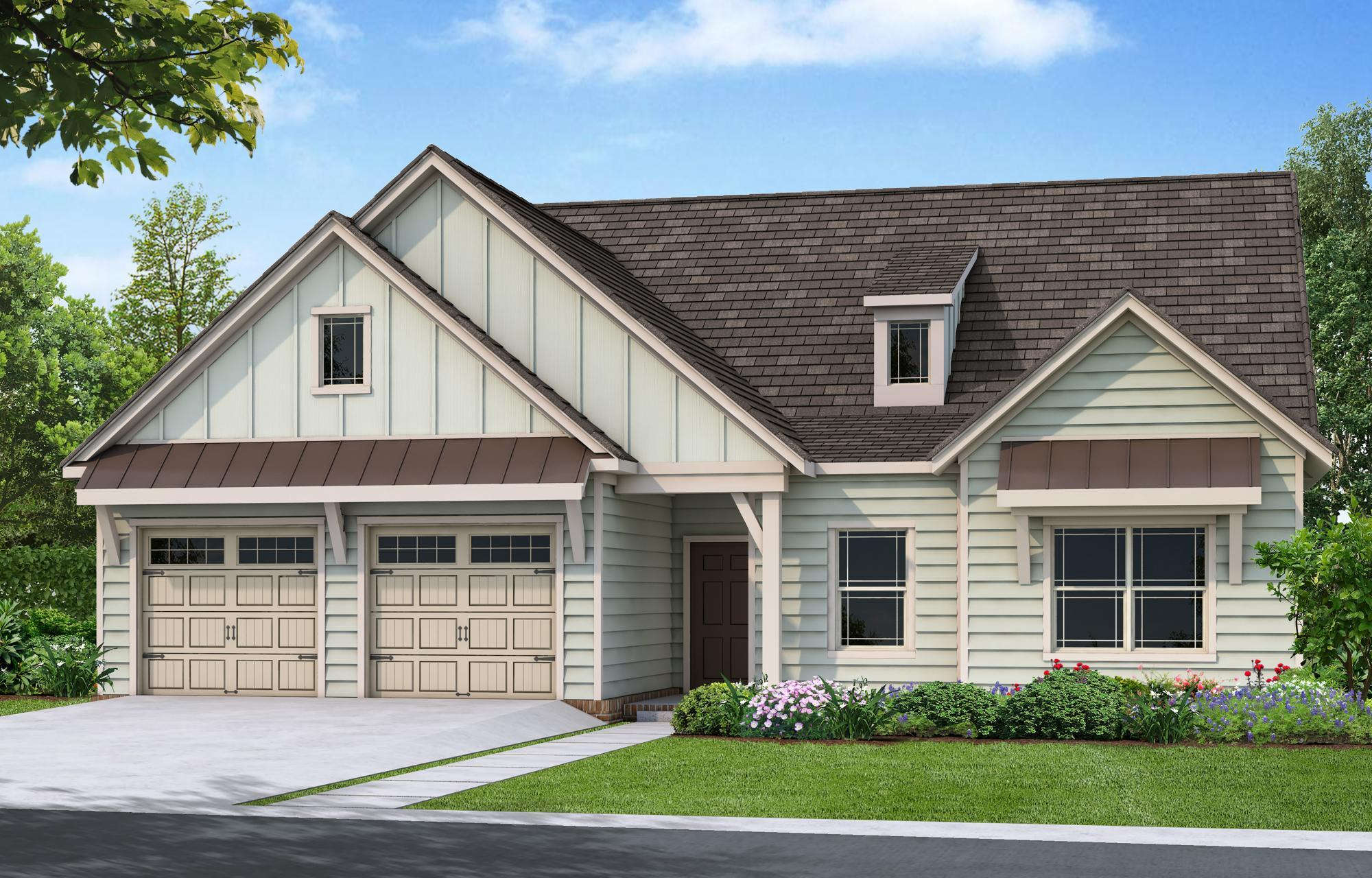 Exterior featured in The Hanover By Goodall Homes in Chattanooga, TN