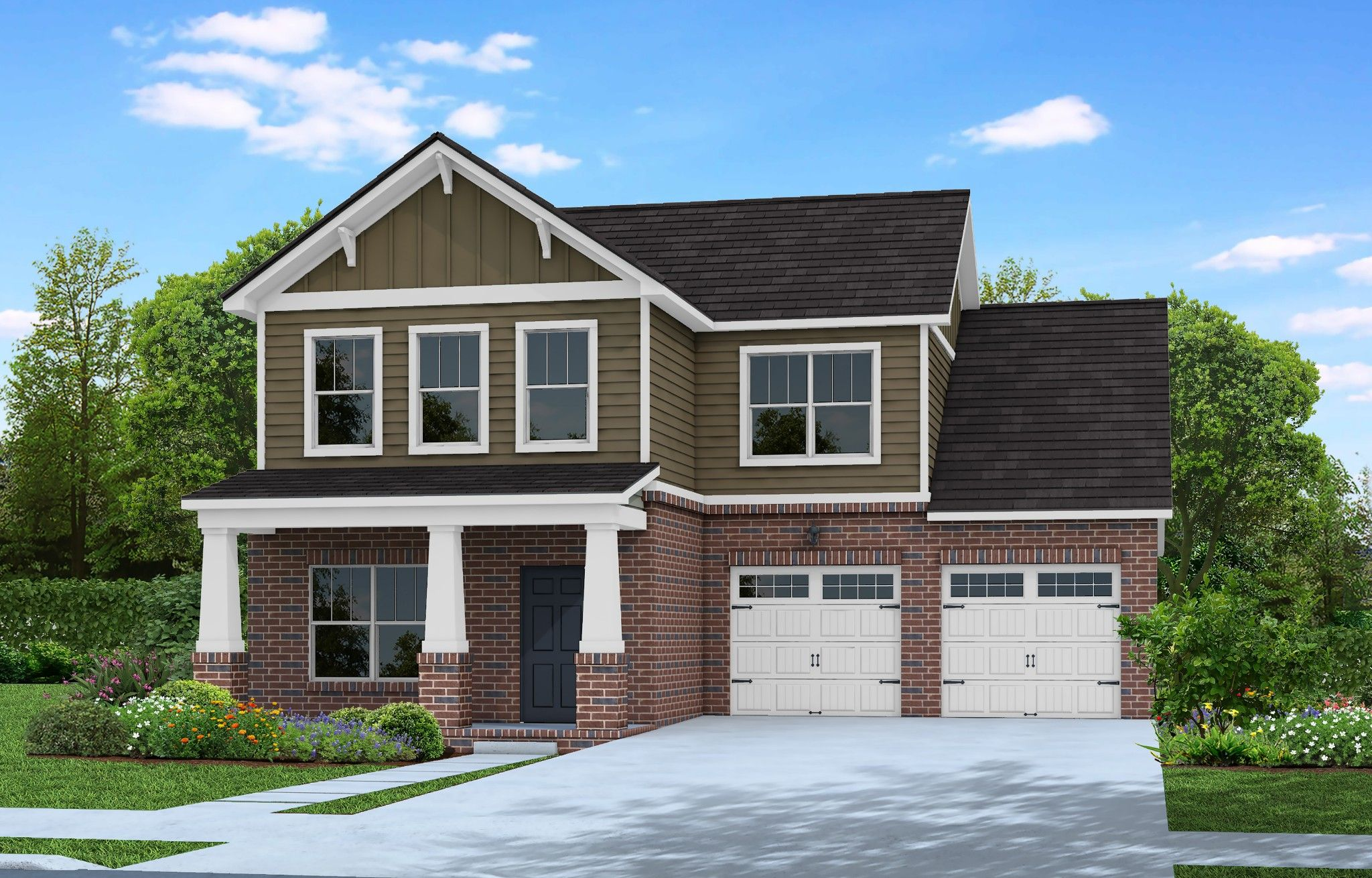 Exterior featured in The Baymont By Goodall Homes in Owensboro, KY