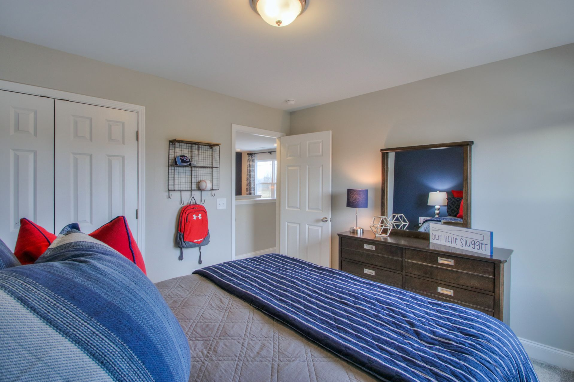 Bedroom featured in The Baymont By Goodall Homes in Huntsville, AL