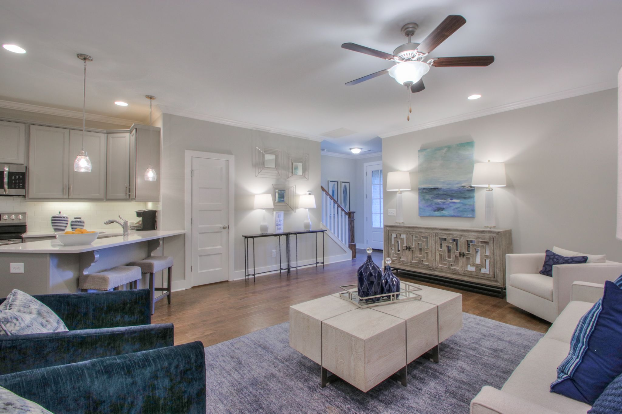 Living Area featured in The Monterey By Goodall Homes in Nashville, TN