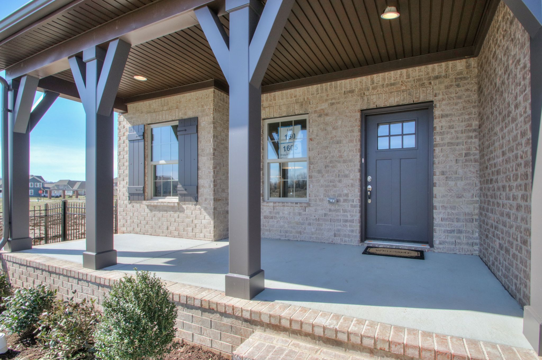Exterior featured in The Newport By Goodall Homes in Nashville, TN
