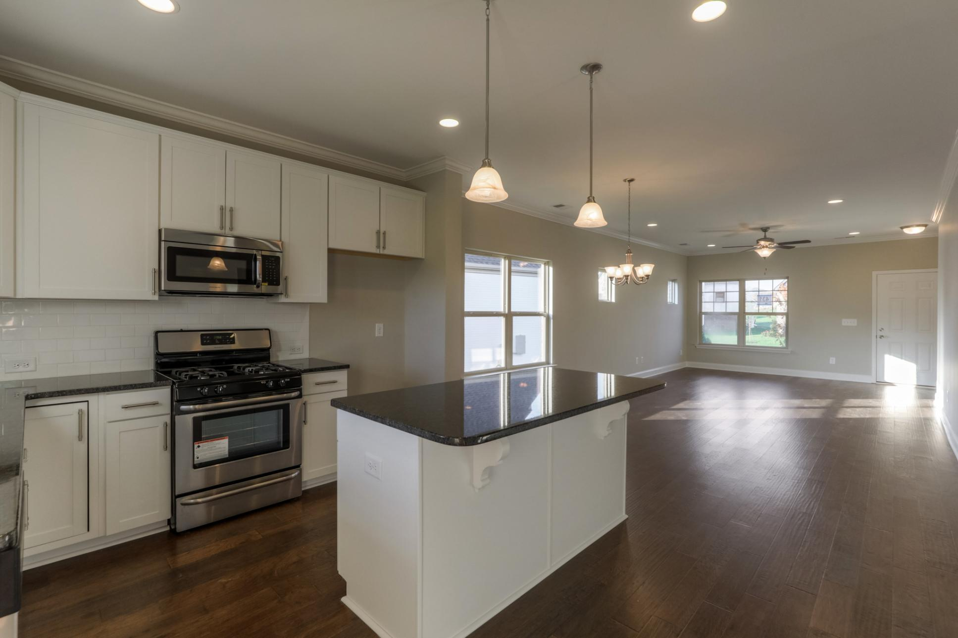 Kitchen featured in The Springmont By Goodall Homes in Knoxville, TN