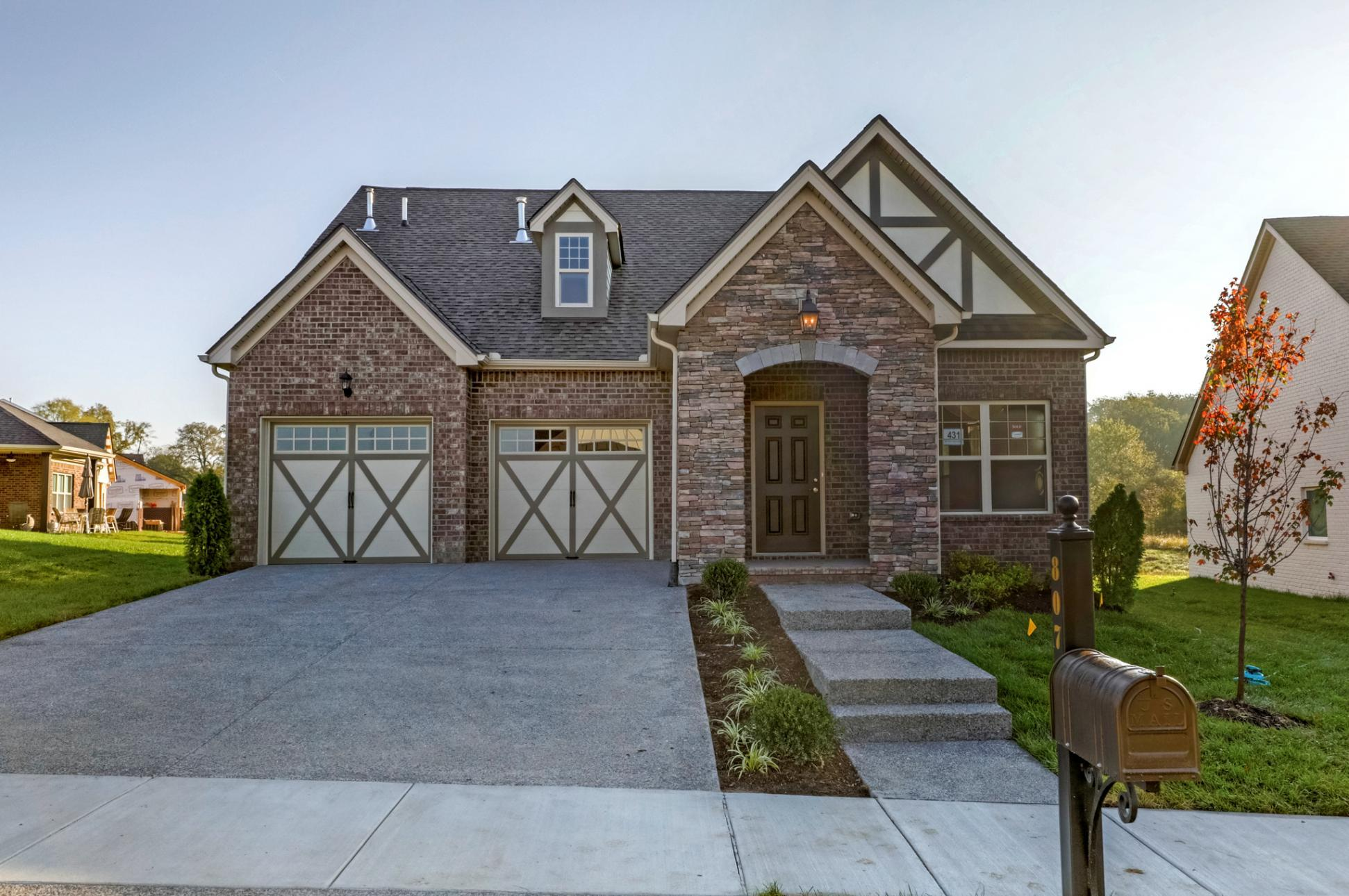 Exterior featured in The Springmont By Goodall Homes in Huntsville, AL