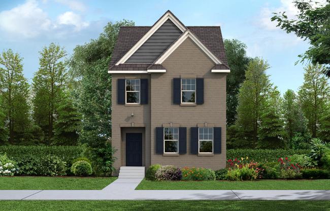 Exterior:The Monroe Cottage Elevation