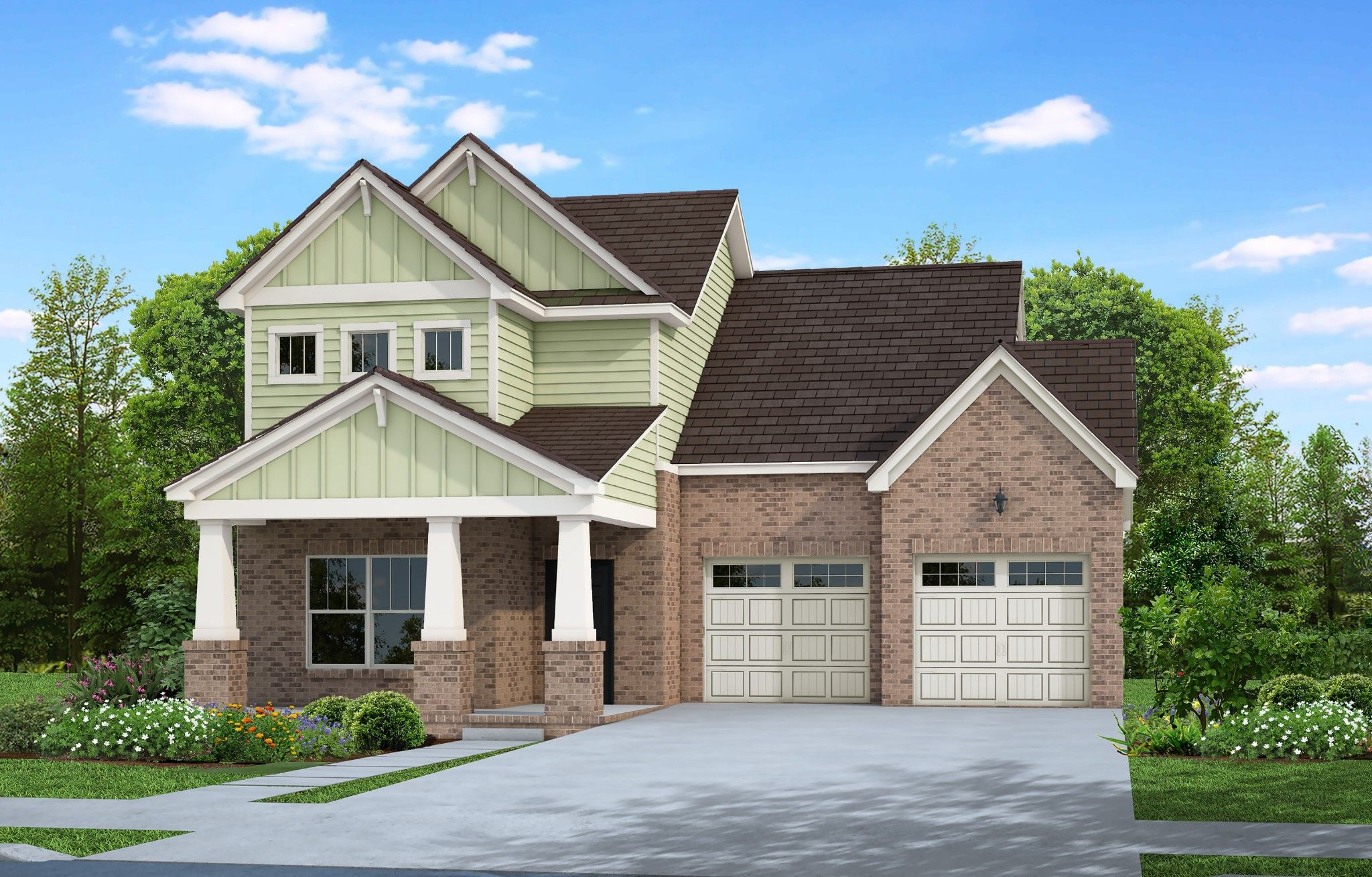Exterior featured in The Kingsmont By Goodall Homes in Knoxville, TN