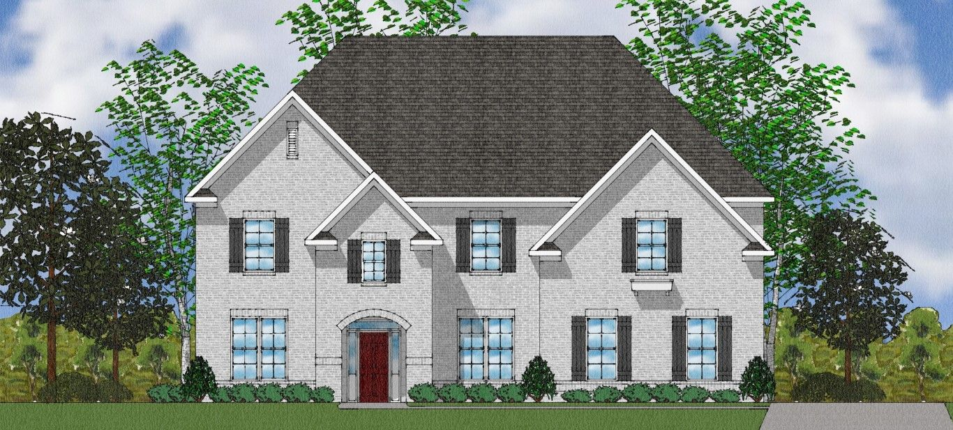 Exterior featured in The McKenna II By Goodall Homes in Huntsville, AL