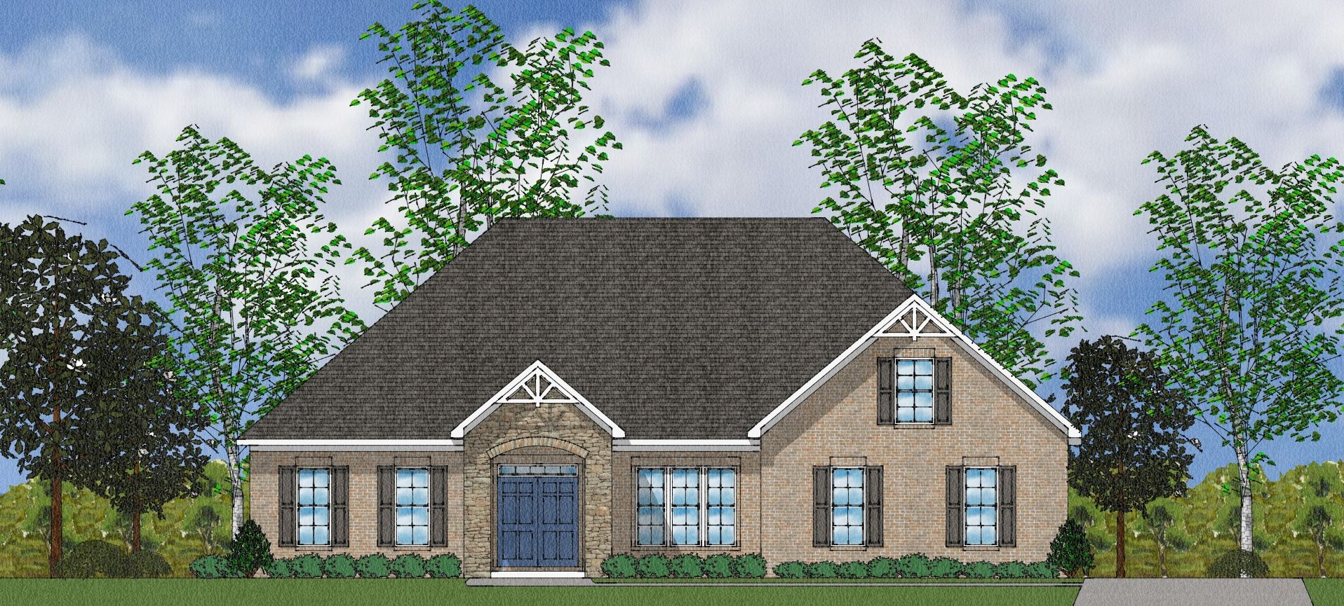 Exterior featured in The Ellstowe By Goodall Homes in Huntsville, AL