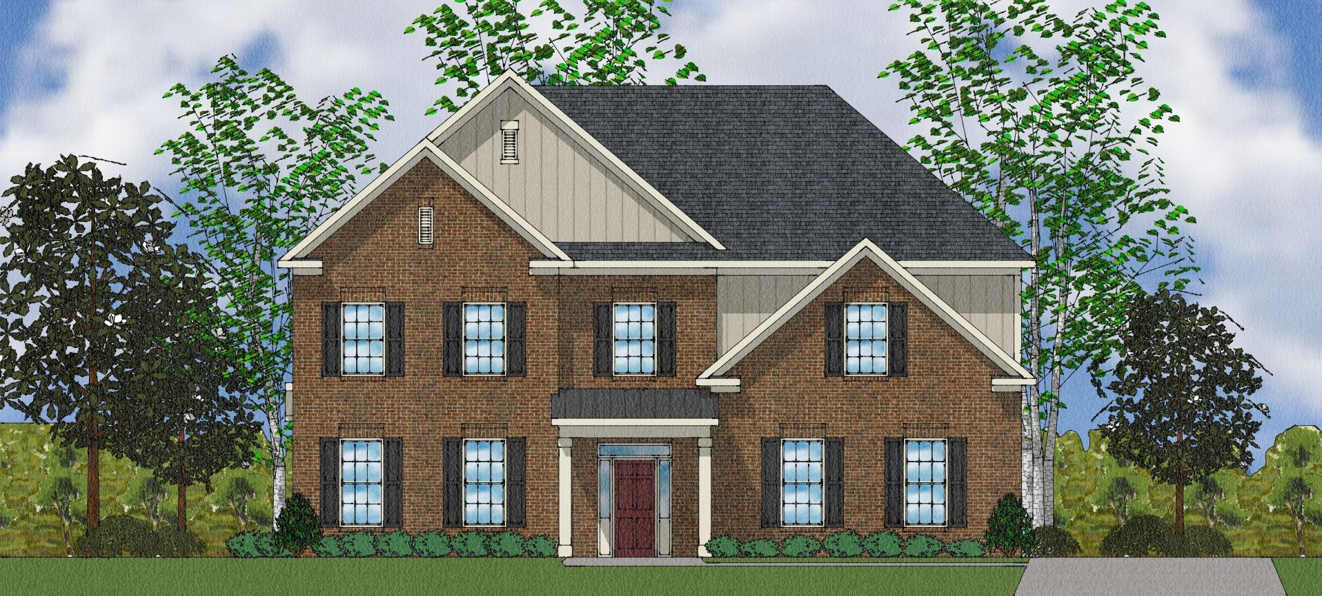 Exterior featured in The Duvall II By Goodall Homes in Huntsville, AL