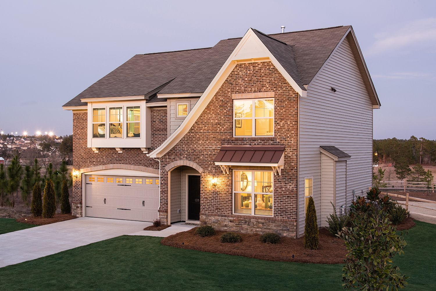 Exterior featured in The Langford By Goodall Homes in Huntsville, AL