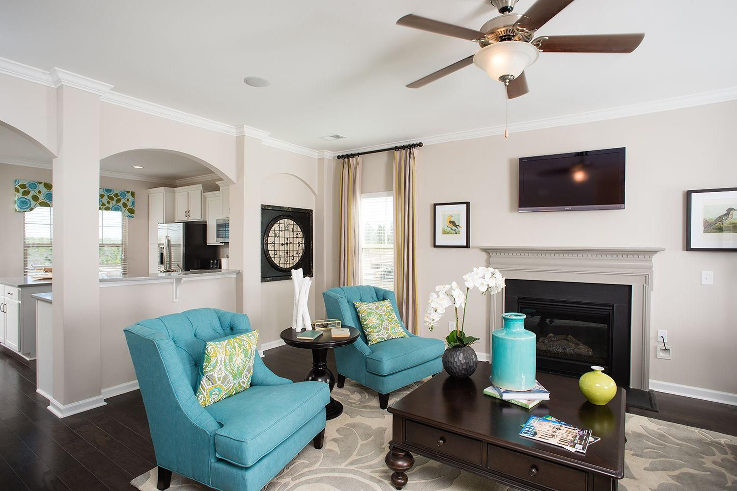 Living Area featured in The Langford By Goodall Homes in Huntsville, AL