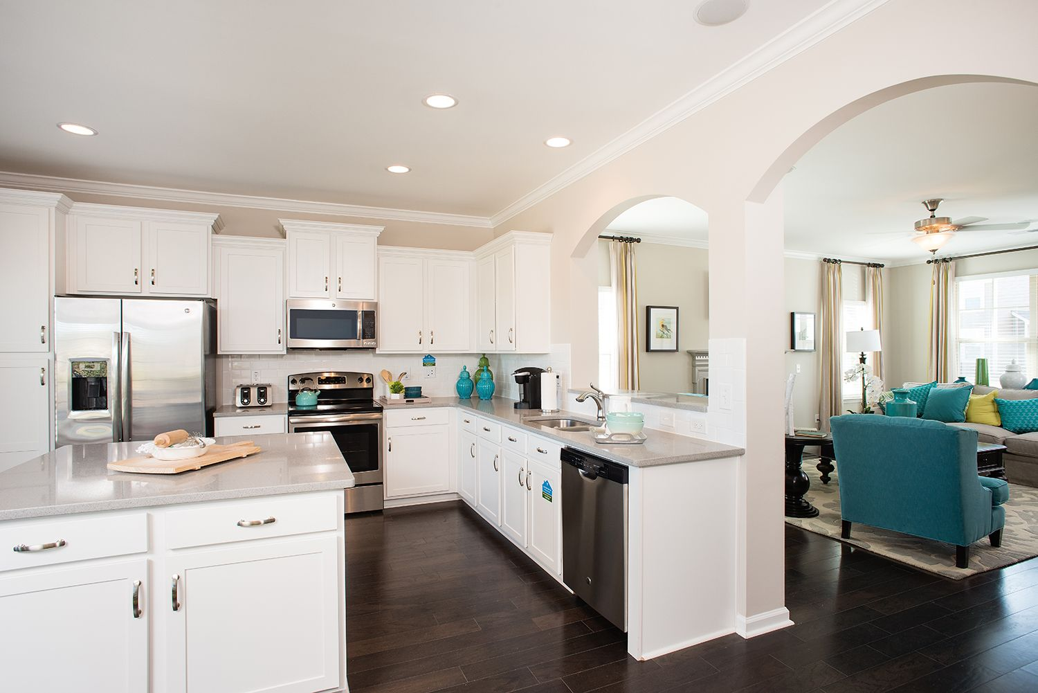 Kitchen featured in The Langford By Goodall Homes in Huntsville, AL