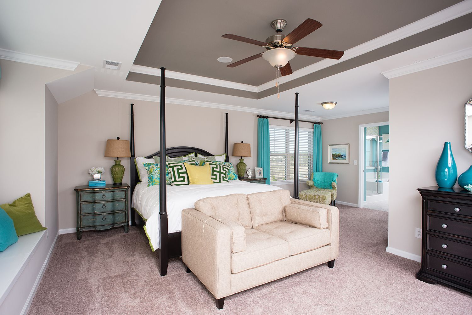 Bedroom featured in The Langford By Goodall Homes in Huntsville, AL