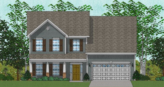 14358 Grey Goose Lane Lot 3 (The Richardson)