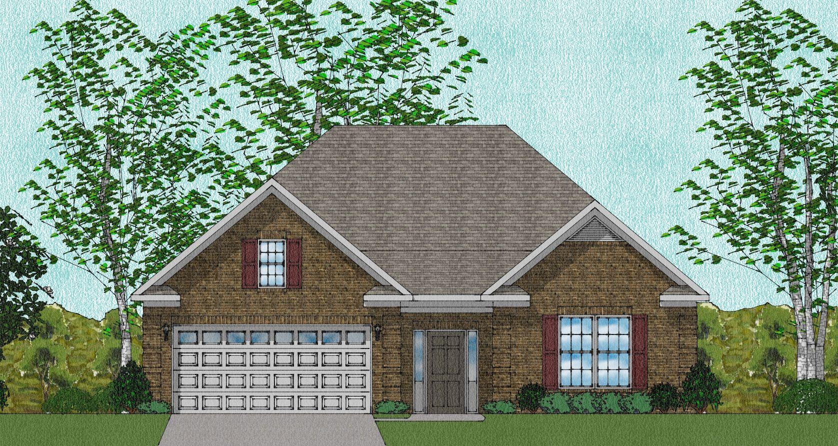 Exterior featured in The Dalton - Huntsville By Goodall Homes in Huntsville, AL