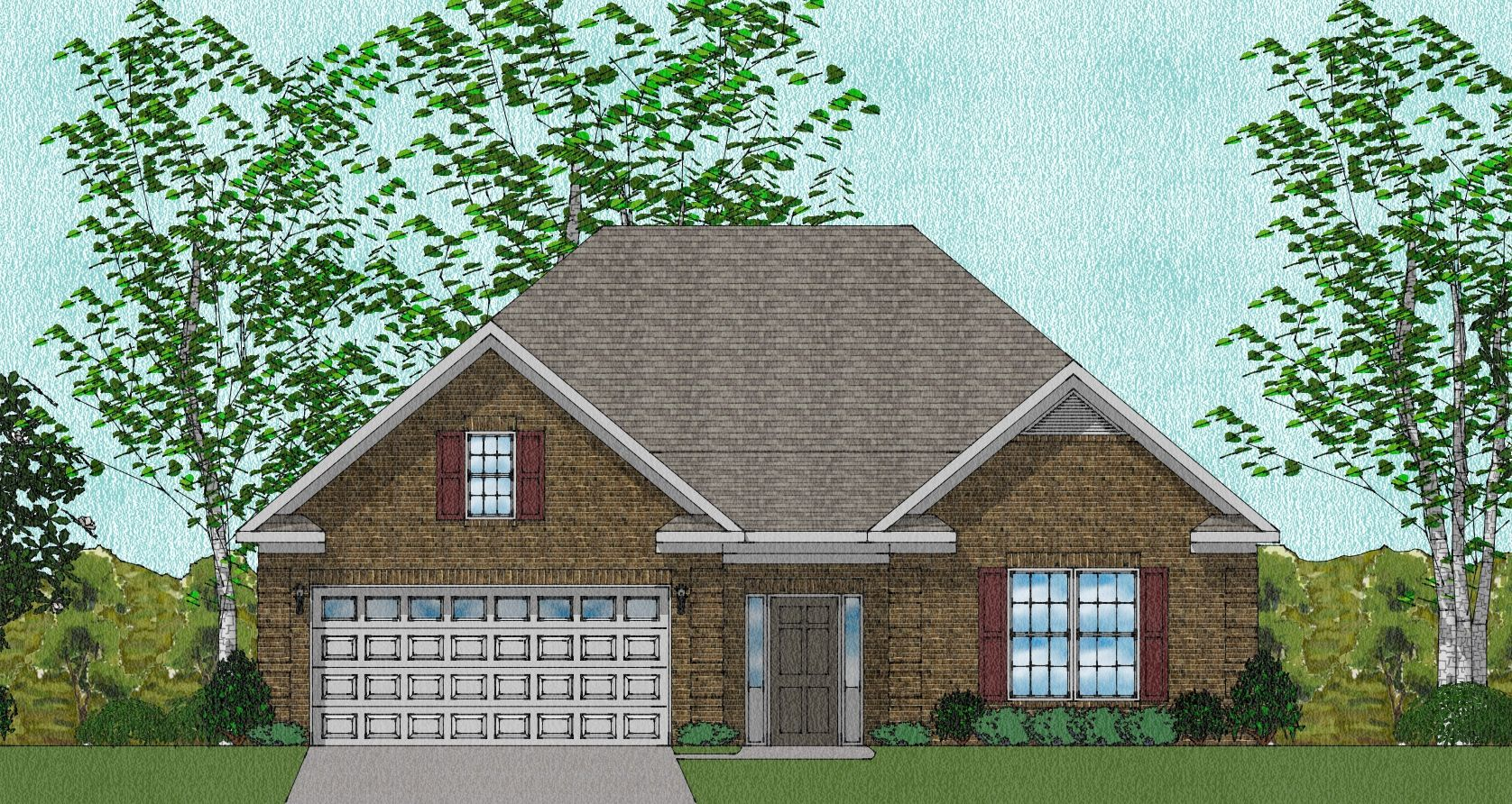 Exterior:DALTON - ELEVATION E