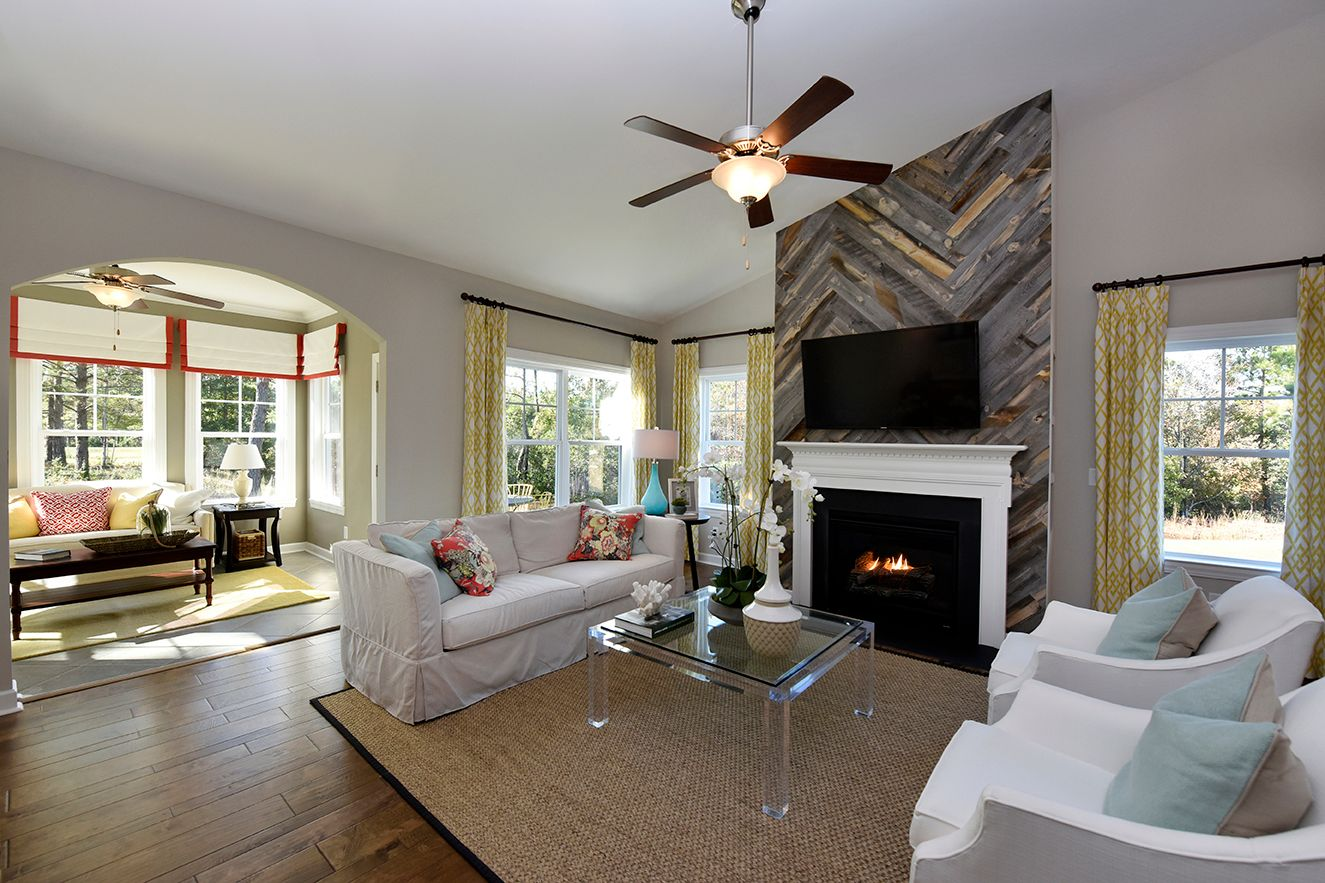 Living Area featured in The Dalton - Huntsville By Goodall Homes in Huntsville, AL