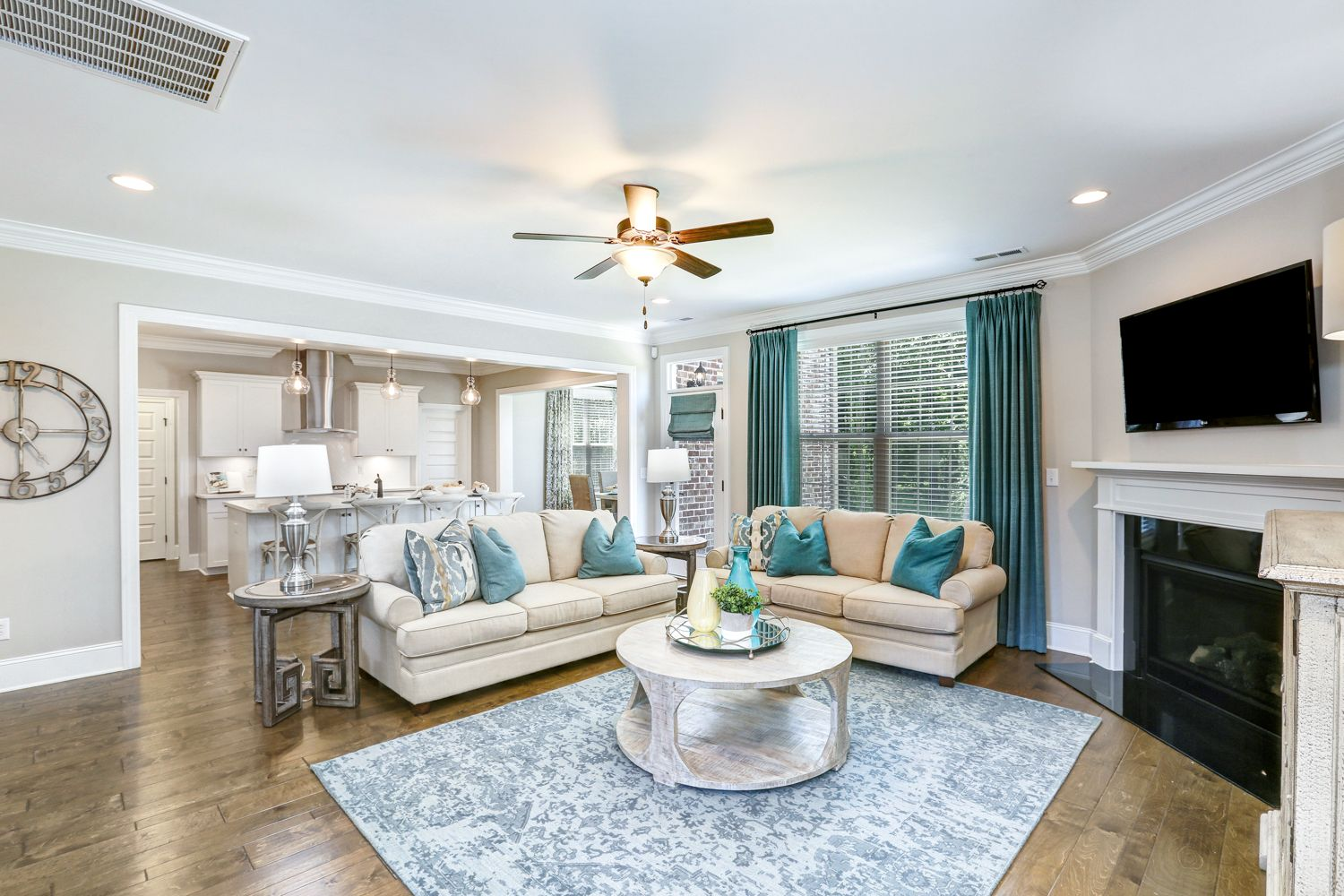 Living Area featured in The Bridges II By Goodall Homes in Huntsville, AL