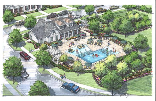 Shadow Green Townhomes in Franklin, TN :: New Homes by