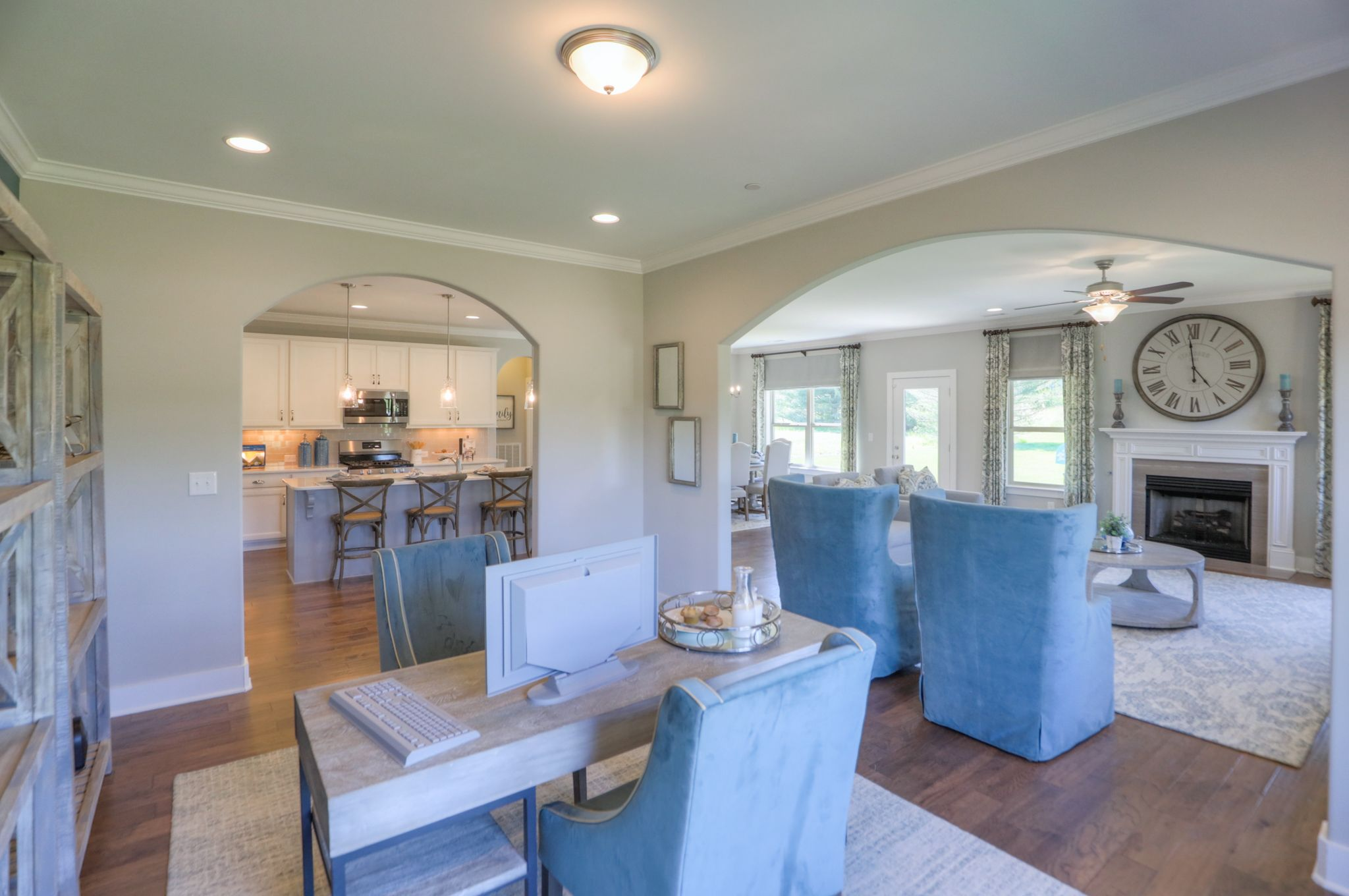 Living Area featured in The Lexington By Goodall Homes in Owensboro, KY