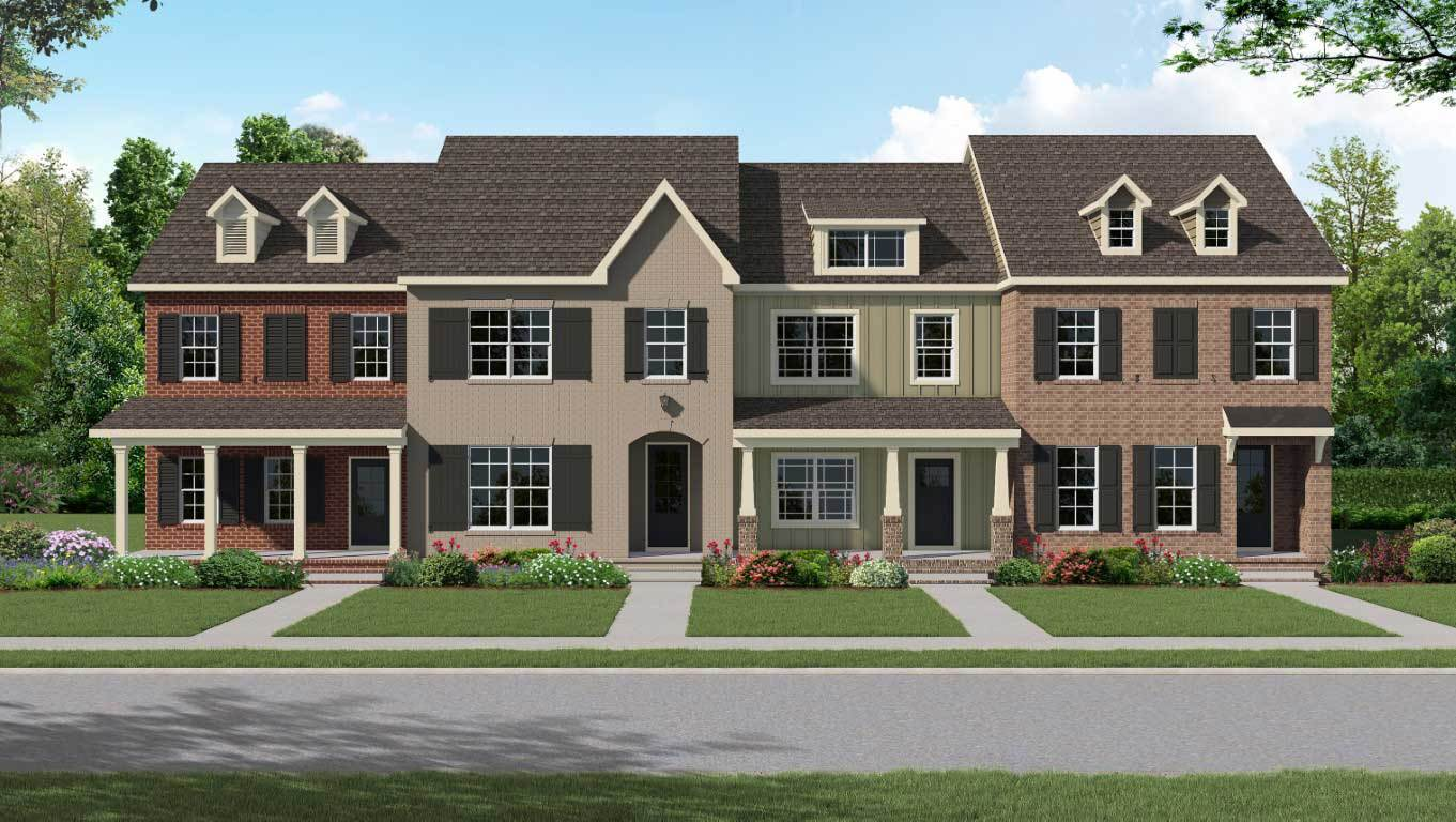 Exterior featured in The Monterey By Goodall Homes in Nashville, TN
