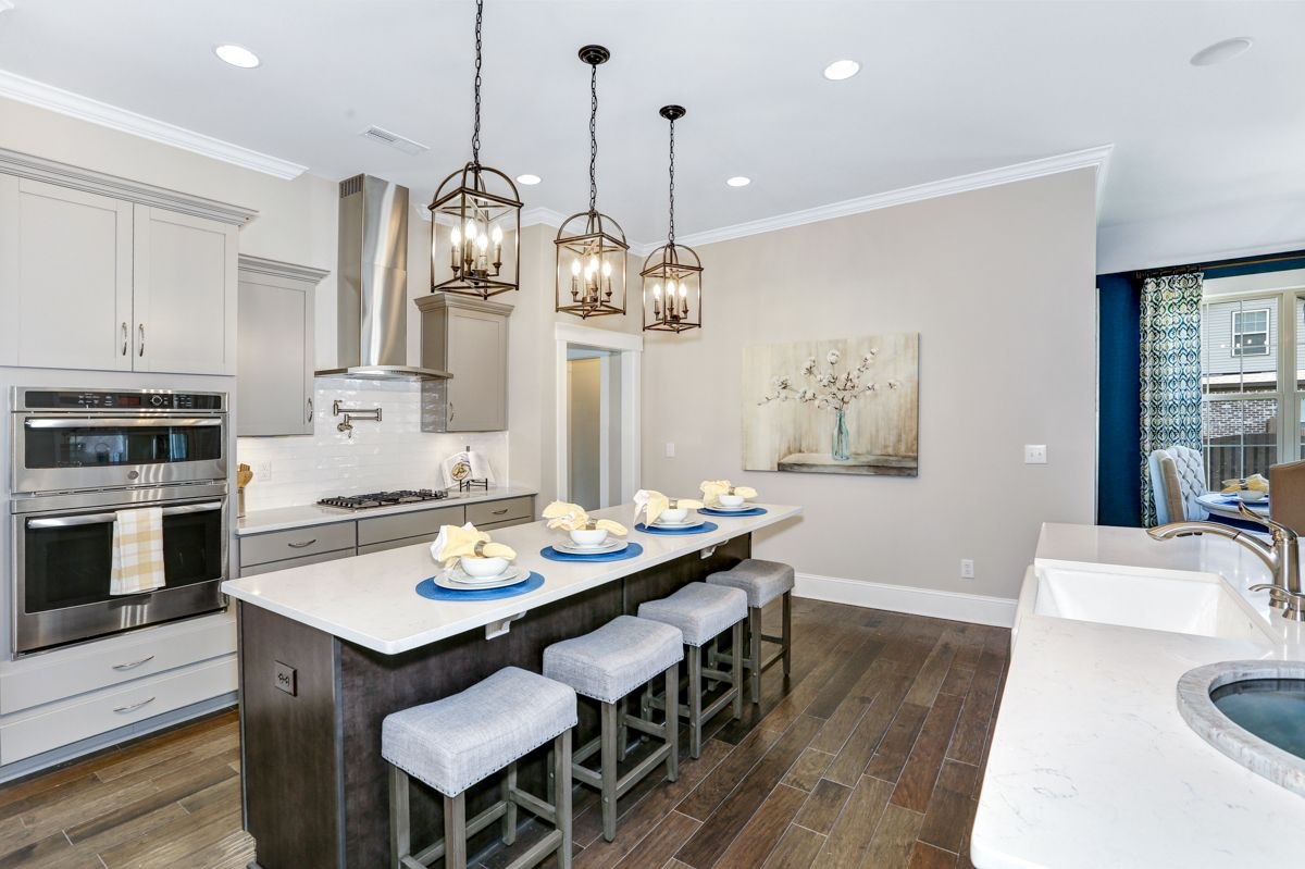 Kitchen featured in The Templeton By Goodall Homes in Huntsville, AL