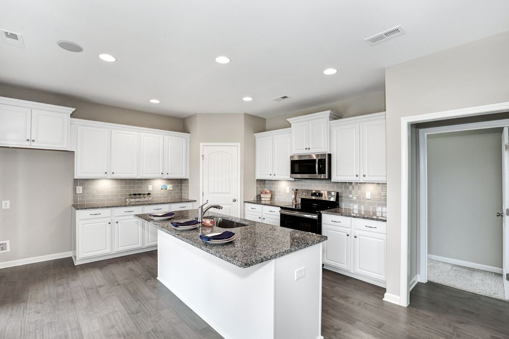 Kitchen featured in The Scarborough By Goodall Homes in Huntsville, AL