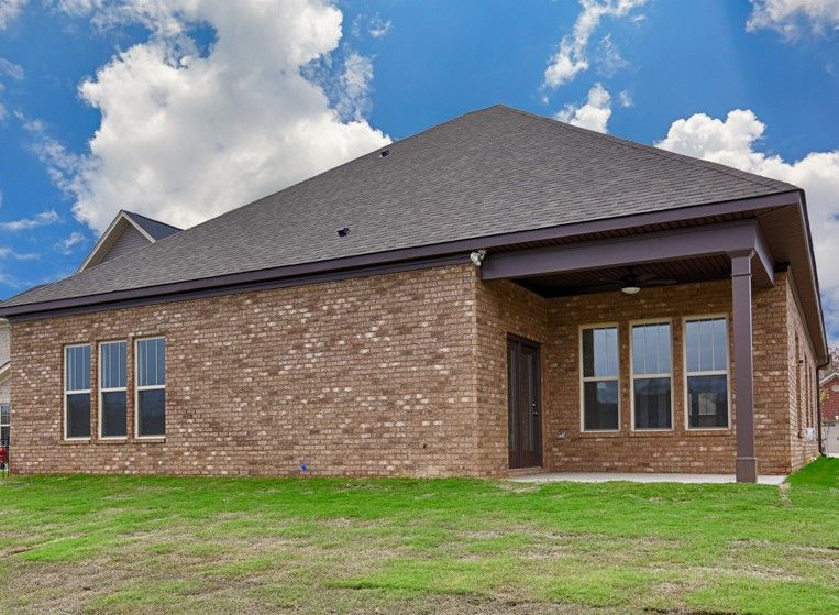 Exterior featured in The Scarborough By Goodall Homes in Huntsville, AL