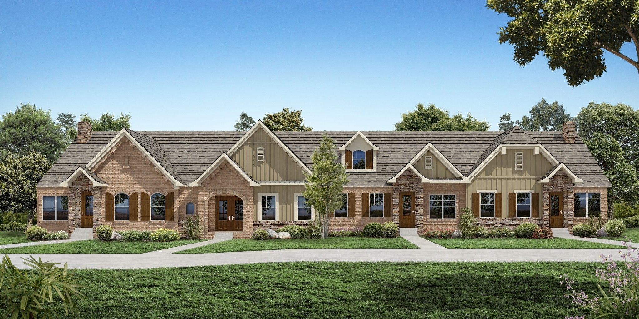 Exterior featured in The Raleigh Courtyard Cottage By Goodall Homes in Nashville, TN