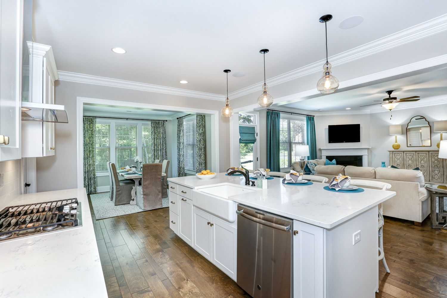 Kitchen featured in The Bridges II By Goodall Homes in Huntsville, AL
