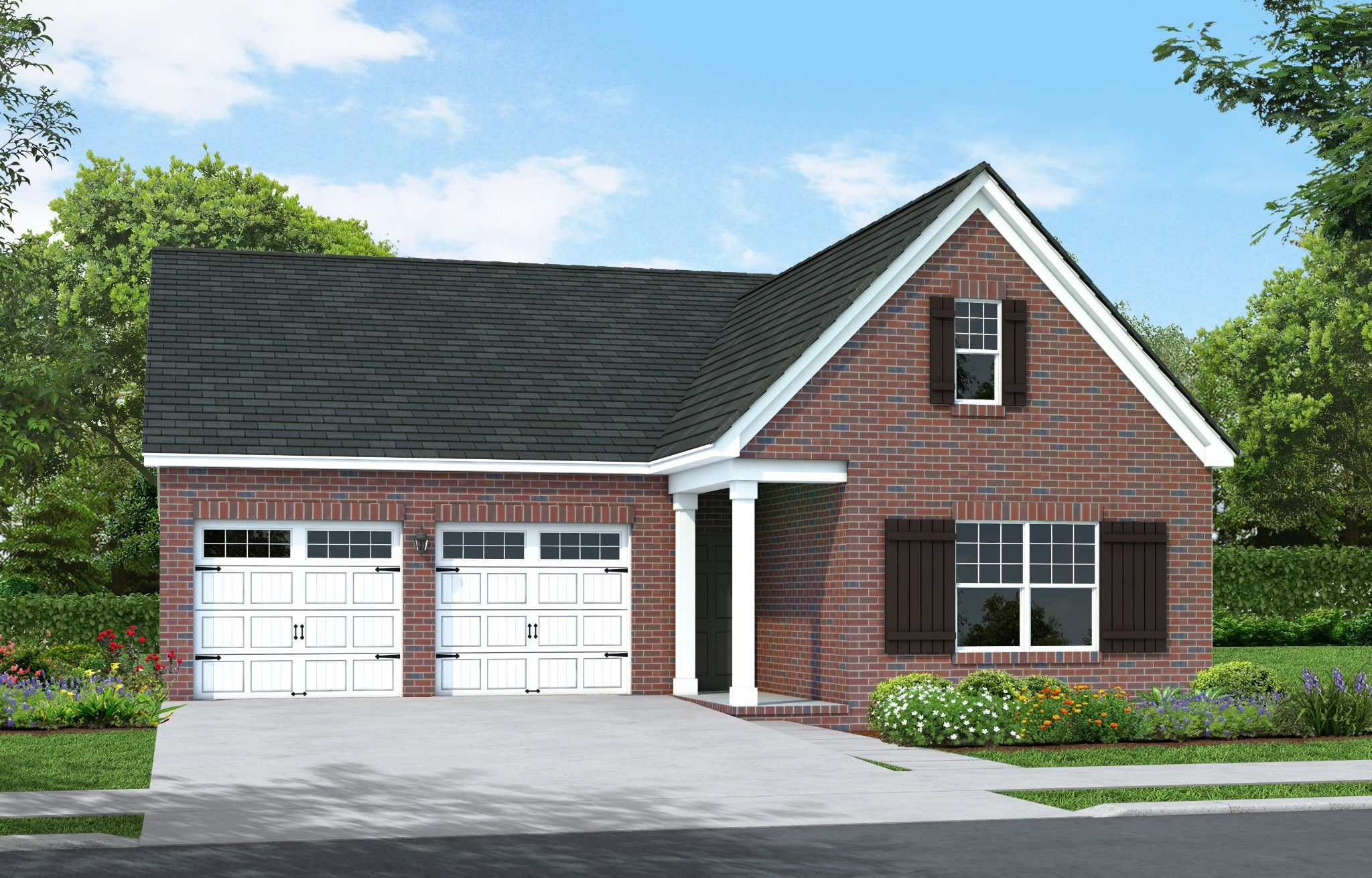 Exterior featured in The Ridgemont By Goodall Homes in Nashville, TN