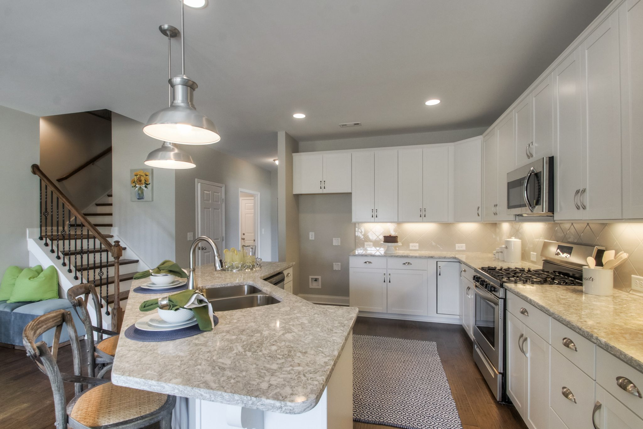 Kitchen featured in The Arlington By Goodall Homes in Nashville, TN