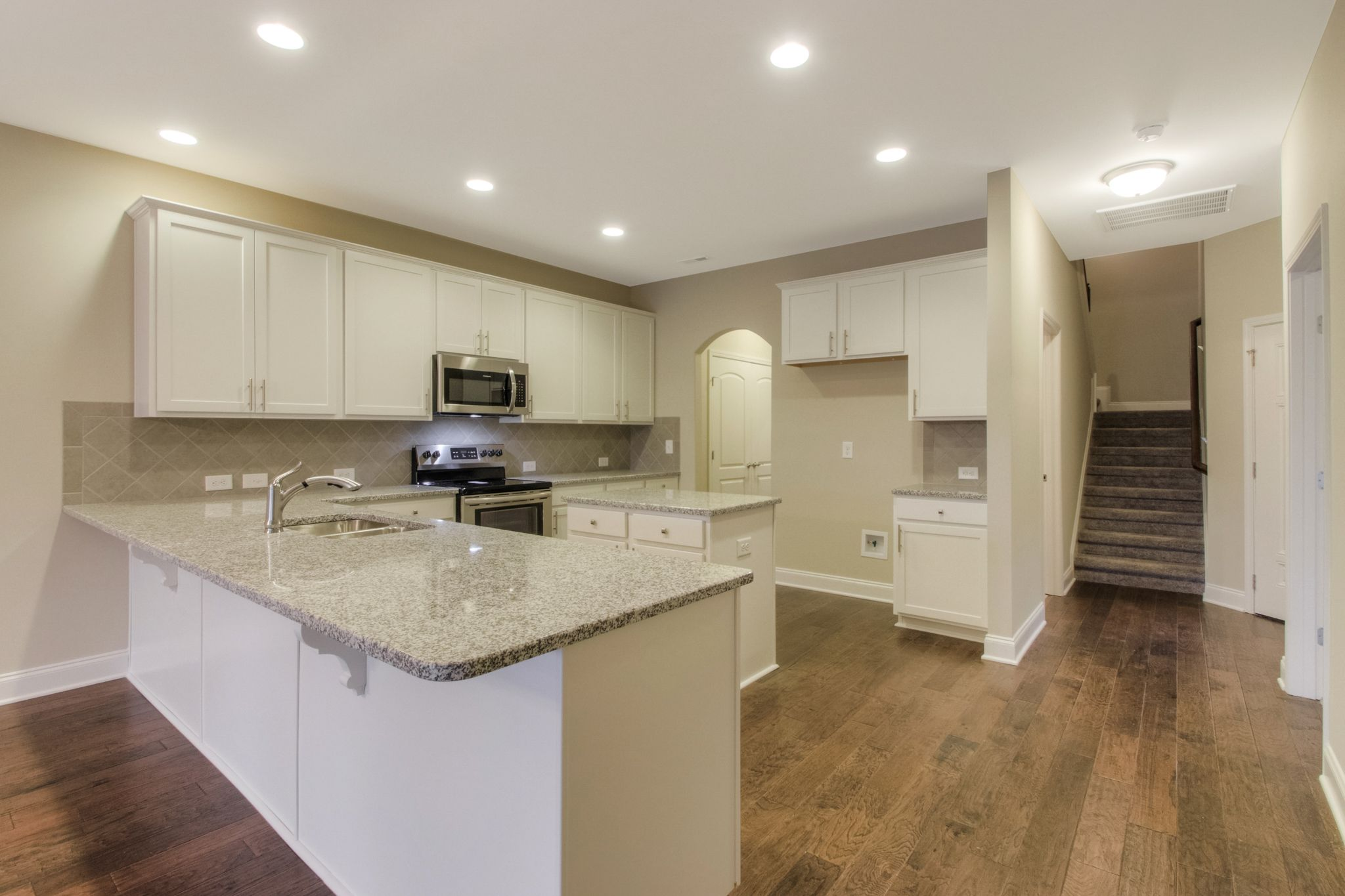Kitchen featured in The Ashleigh Courtyard Cottage By Goodall Homes in Knoxville, TN