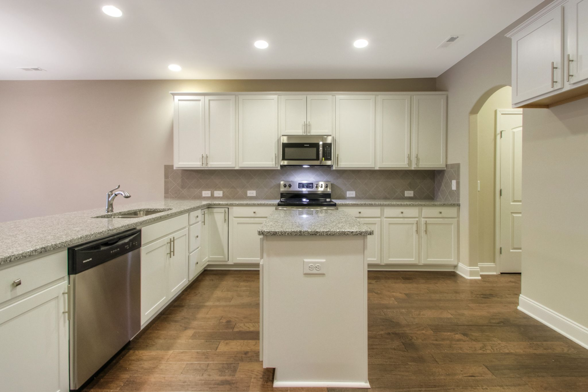 Kitchen featured in The Ashleigh Courtyard Cottage By Goodall Homes in Chattanooga, GA