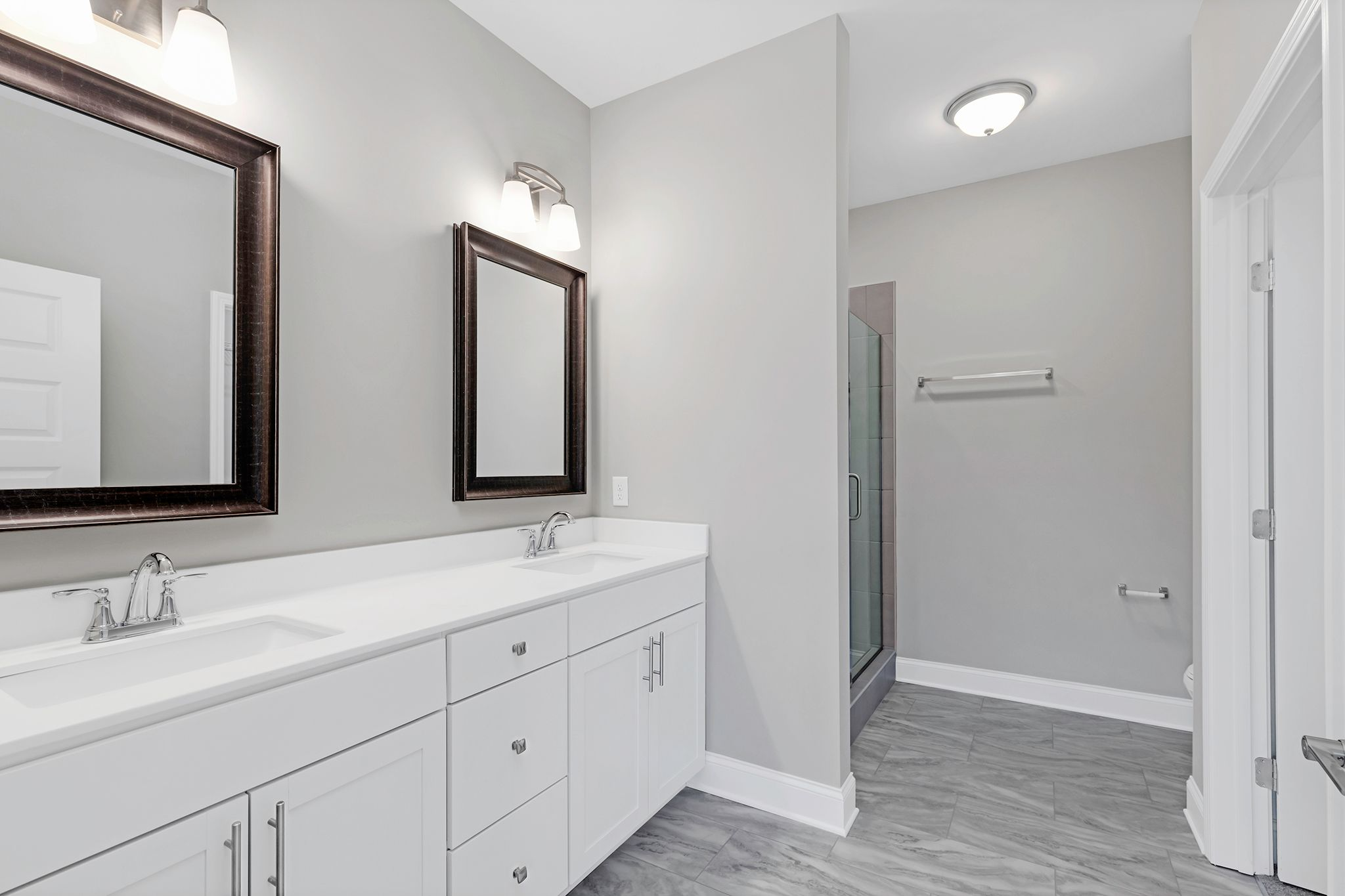 Bathroom featured in The Waverleigh Courtyard Cottage By Goodall Homes in Chattanooga, GA