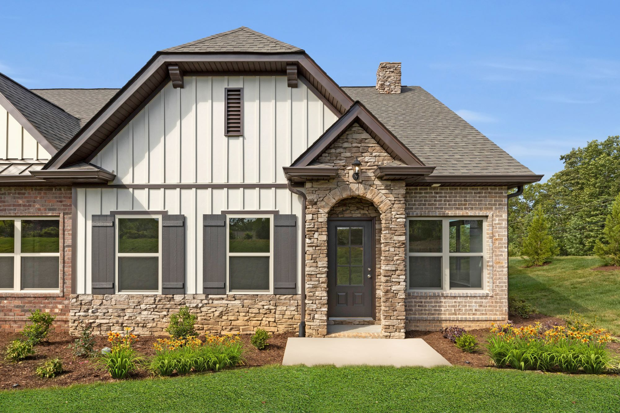 Exterior featured in The Everleigh Courtyard Cottage By Goodall Homes in Nashville, TN
